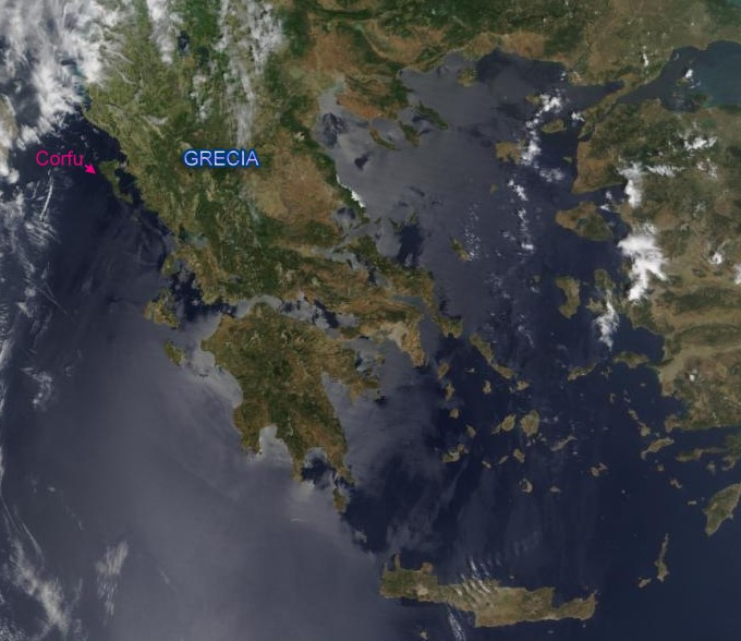 Insula Corfu Harta Statiuni Oferte Timp Liber